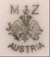 Porzellan von Altrohlauer Porzellan-Fabriken AG vorm.Moritz Zdekauer