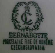 Porzellan von Lessau Porzellanfabrik