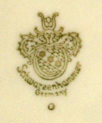 Porzellan von Schumann & Schreider Porzellanfabrik