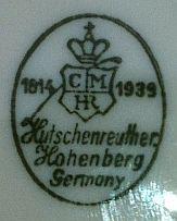 Porzellan von Porzellanfabrik C. M. Hutschenreuther