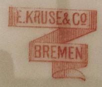Porzellan von E. Kruse & Co.