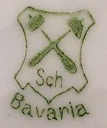 Porzellan von Schumann & Schreider Porzellanfabrik Schwarzenhammer
