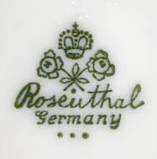 Porzellan von Philipp Rosenthal & Co