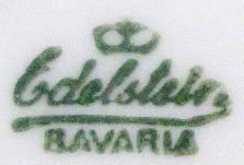 Porzellan von Porzellanfabrik J. Edelstein