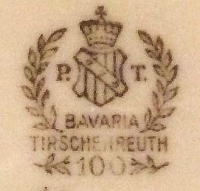 Porzellan von Porzellanfabrik Tirschenreuth