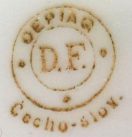 Porzellan von Österreichische Porzellanindustrie A.G., vormals Dallwitz