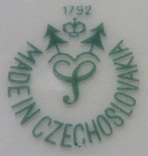 Porzellan von Porzellanfabrik Schlaggenwald