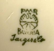 Porzellan von Porzellanfabrik Marktredwitz Jäger & Co