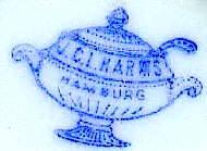 Porzellan von Johann Carl Ludwig Harms