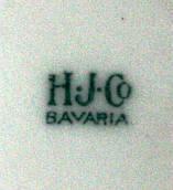 Porzellan von Hertel, Jacob & Co