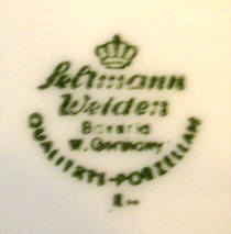 Porzellan von Porzellanfabrik Christian Seltmann