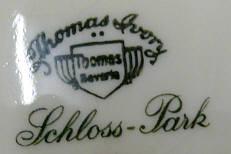 Porzellan von Porzellanfabrik F. Thomas