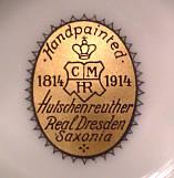 Porzellan von C.M. Hutschenreuther - Kunstabteilung Dresden