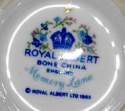 Porzellan von Thomas C. Wild & Sons (Royal Albert Ltd.)