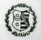 Porzellan von VEB Porzellanfabrik Lettin