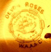 Porzellan von Adderley's Ltd. G.E. Wotherspoon vormals Wiliam Alsager Adderley