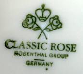 Porzellan von Rosenthal AG