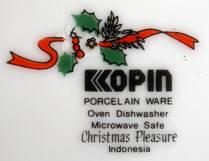 Porzellan von Kopin Porcelain