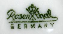 Porzellan von Philipp Rosenthal & Co. bzw. Rosenthal AG