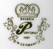Porzellan von Purfürst Porzellan