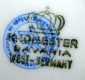 Porzellan von Porzellanfabrik J. Kronester