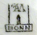 Porzellan von F.A. Mehlem, Inh. F. Guilleaume