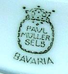 Porzellan von L. Hutschenreuther Porzellanfabrik für das Werk Paul Müller