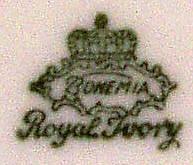 Porzellan von Bohemia Keramische Werke AG
