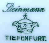 Porzellan von K. Steinmann Porzellanfabriken