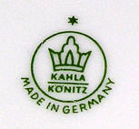Porzellan von VEB Vereinigte Porzellanwerke Kahla-Könitz