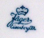 Porzellan von Porzellanfabrik Wilhelm Jäger/VEB Vereinigte Porzellanwerke Eisenberg