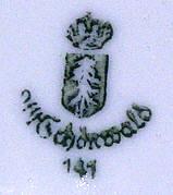 Porzellan von Porzellanfabrik Schönwald