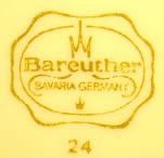 Porzellan von Porzellanfabrik Waldsassen Bareuther & Co.
