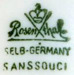 Porzellan von Philipp Rosenthal & Co./Rosenthal Porzellan AG