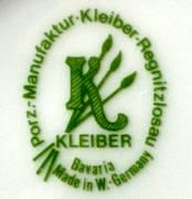 Porzellan von Kleiber Porzellan GmbH