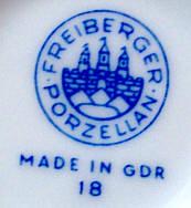 Porzellan von VEB Porzellanfabrik Freiberg
