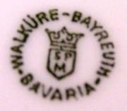 Porzellan von Erste Bayreuther Porzellanfabrik