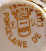 Porzellan von Porcelaines Philippe Deshoulières