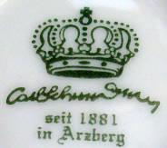 Porzellan von Carl Schumann Porzellanfabrik