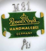 Porzellan von Philipp Rosenthal & Co. / Rosenthal AG