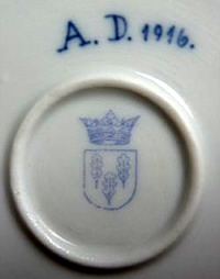 Porzellan von C. G. Schierholz & Sohn Porzellanmanufaktur Plaue