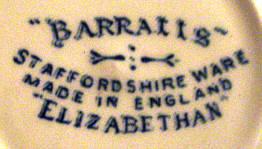 Porzellan von Barratts