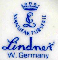 Porzellan von Lindner Porzellanfabrik KG