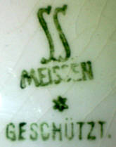 Porzellan von Steingutfabik AG Sörnewitz