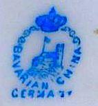Porzellan von Porzellanfabrik Gießhübel
