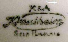 Porzellan von Krautheim & Adelberg Porzellanfabrik