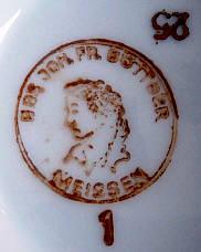 Porzellan von VEB Lehrwerkstätten Meissen ?