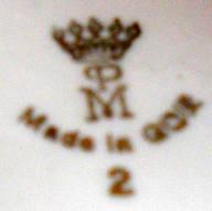 Porzellan von Porzellanfabrik Martinroda Friedrich Eger & Co./VEB Porzellanwerk Martinroda/Porzellanfabrik Martinroda Friedrich Eger