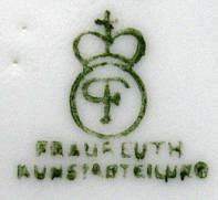 Porzellan von Porzellanfabrik Fraureuth AG