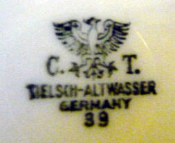 Porzellan von C. Tielsch & Co.